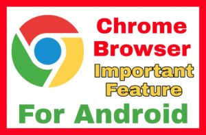 chrome browser feature
