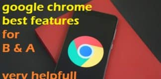 google chrome features
