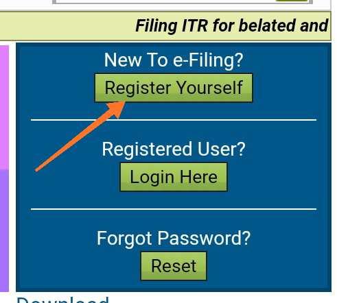 Income tax return file