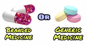 Generic Medicine And Branded Medicine